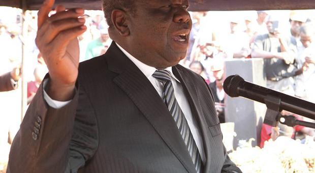 Outgoing Prime Minister Morgan Tsvangirai is a leader of the Movement For Democtratic Change (AP)