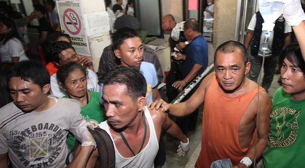 More than 20 people have died after a passenger ferry sank in the Philippines (AP)