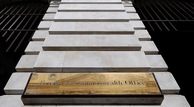 The person died on Thursday but the Foreign Office was unable to provide any more detail
