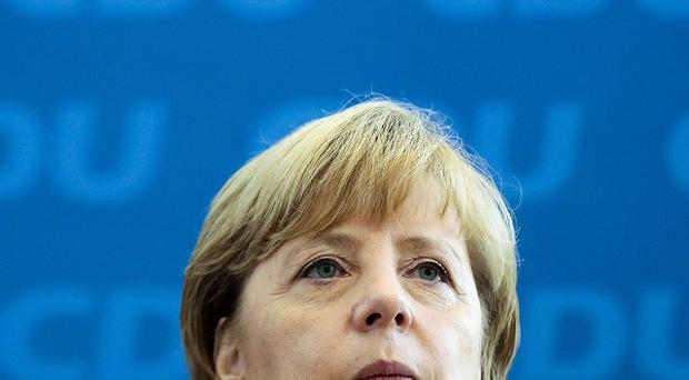 German chancellor Angela Merkel has talked of ending arms sales to Egypt (AP)