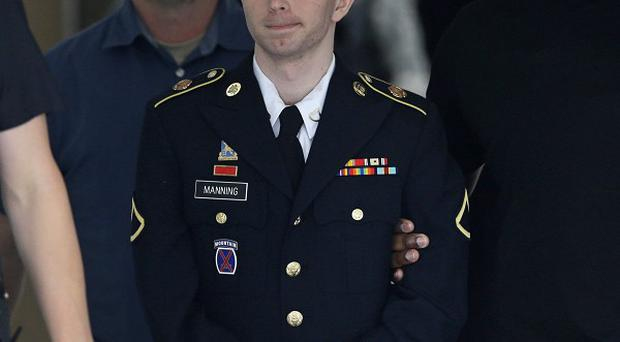 Prosecutors have recommended a sentence of 60 years in prison for Bradley Manning (AP)