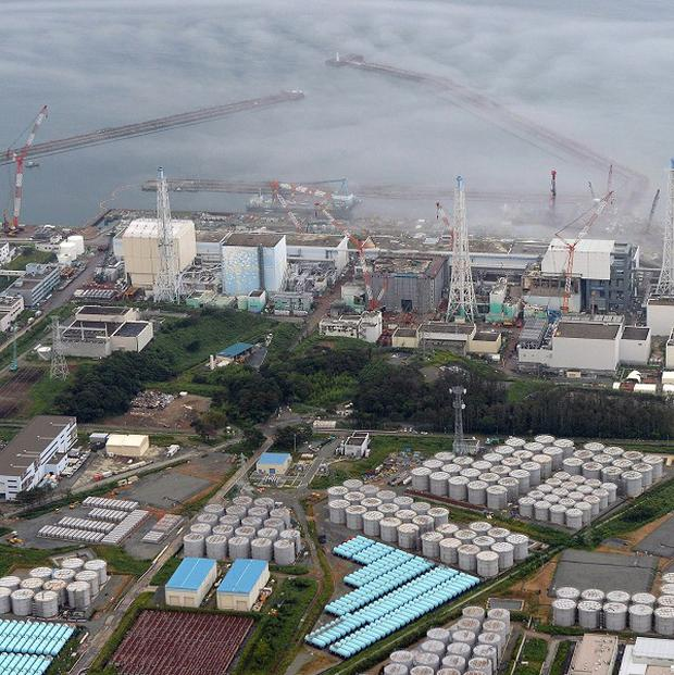 The Fukushima Dai-ichi nuclear plant in northern Japan (AP/Kyodo News)