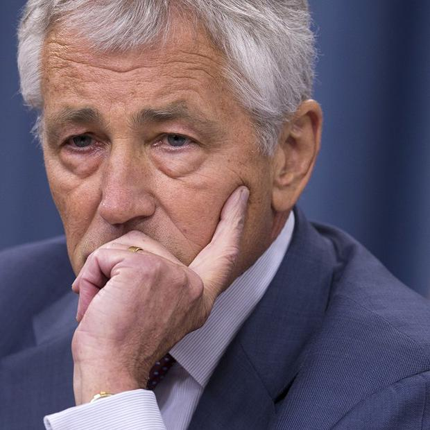 US Secretary of Defence Chuck Hagel