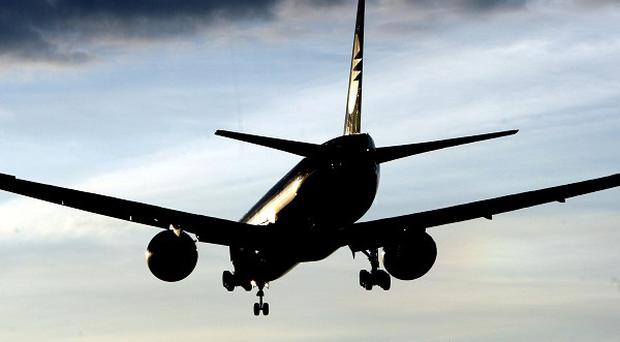 Passengers and crew had alerted the pilots that a boy was seen running to the plane as it was taxiing to take off in Nigeria