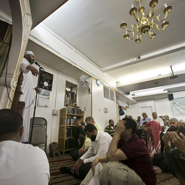 The Islamic Society of Bay Ridge mosque was monitored by the NYPD for years but has never been charged as part of a terrorism conspiracy (AP)