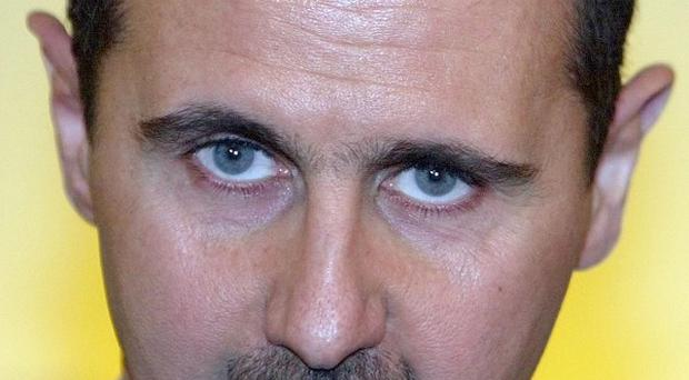 Syia will defend itself if attacked, says President Bashar Assad.