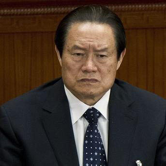 Zhou Yongkang is widely associated with a policy to maintain social stability at all costs (AP/Andy Wong)