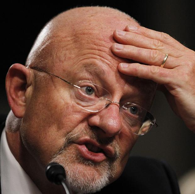 Director of national intelligence James Clapper is to release figures on how many new top secret court orders and national security letters are issued (AP Photo/Manuel Balce Ceneta)