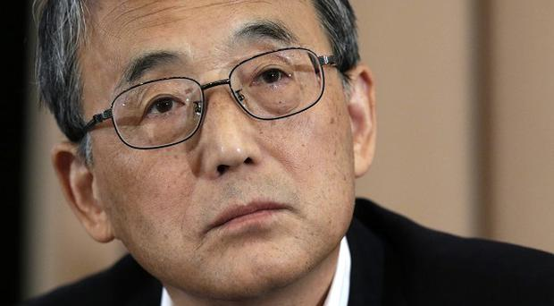 Japan's Nuclear Regulation Authority chairman Shunichi Tanaka attends a press conference in Tokyo (AP)