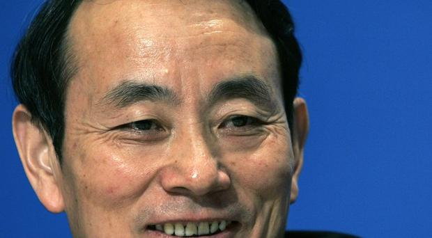 Jiang Jiemin has been dismissed from his positions as director and deputy party chief of the Cabinet's commission that runs state companies (AP)