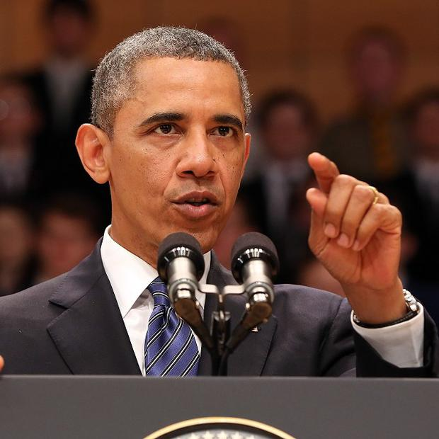 US President Barack Obama is to give a national address on Tuesday night