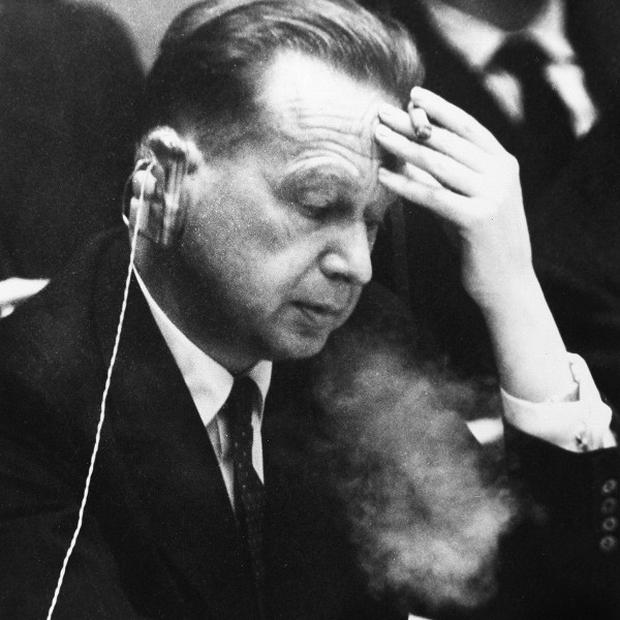 Former UN Secretary General Dag Hammarskjold's death remains a mystery more than 50 years on (AP)