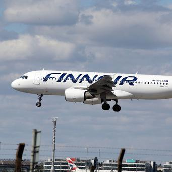 Finnair passengers are undaunted by taking Flight 666 on Friday the 13th