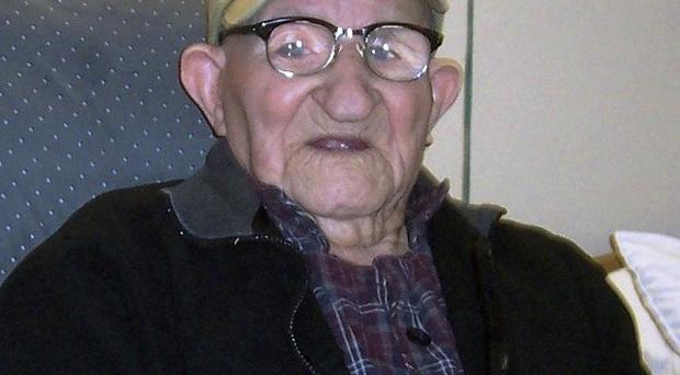 The world's oldest man Salustiano Sanchez-Blazquezm has died aged 112 (AP/Guiness World Records)