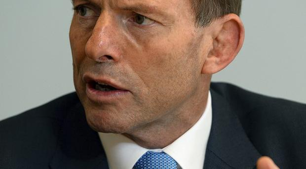 New Australian PM Tony Abbott has appointed just one woman to his cabinet (AP)