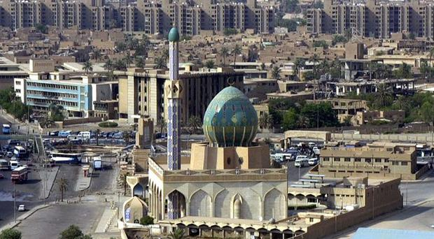 A deadly blast has rocked a Sunni mosque north of Baghdad