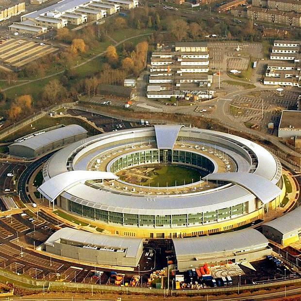 GCHQ was behind a cyber-espionage scheme targeting Belgium's main phone operator, it is claimed. Photograph shows GCHQ's main base in Cheltenham, Gloucestershire