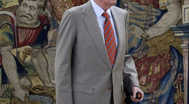 Spain's King Juan Carlos is having another hip operation (AP)