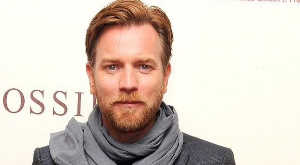 Ewan McGregor was among the stars at Wang Jianlin's film studio complex launch