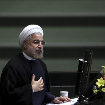 Iranian president Hasan Rouhani has impressed world leaders with his markedly milder tone on Iran's nuclear programme (AP)