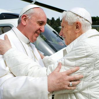 Both popes have now written letters to promiment atheists (AP)