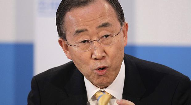 Ban Ki-moon called on the Security Council to adopt an 'enforceable' resolution on the US-Russian agreement