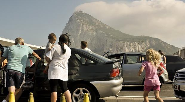 Complaints have been raised over the checks on traffic in and out of Gibraltar
