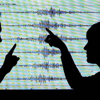 An earthquake has struck off the coast of south-western Peru