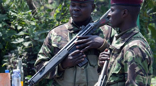 The violence continued elsewhere in Kenya as one person was killed and four wounded after a gunman opened fire and threw grenades in the town of Wajir (AP/Sayyid Azim)
