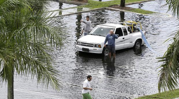 Preparations are under way along the central Gulf Coast as Tropical Storm Karen approaches land (AP)