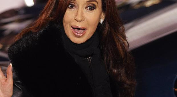 President Cristina Fernandez de Kirchner had suffered a previously undisclosed blow to the head on August 12