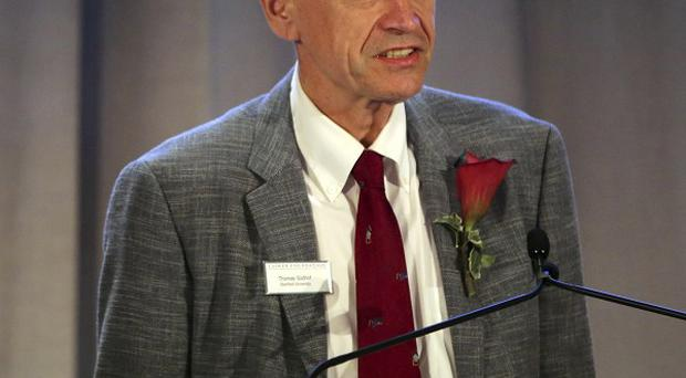 Thomas Suedhof, one of the team which won the Nobel Prize in medicine (AP)