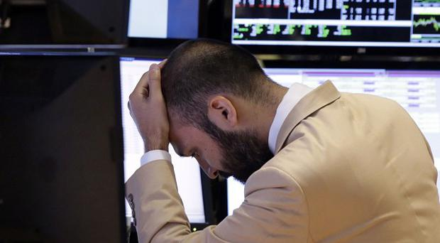 Stocks got a case of the jitters on Wall Street as the partial federal government shutdown continued (AP/Richard Drew)