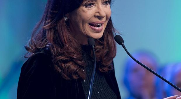 Argentina president Cristina Fernandez de Kirchner was diagnosed with