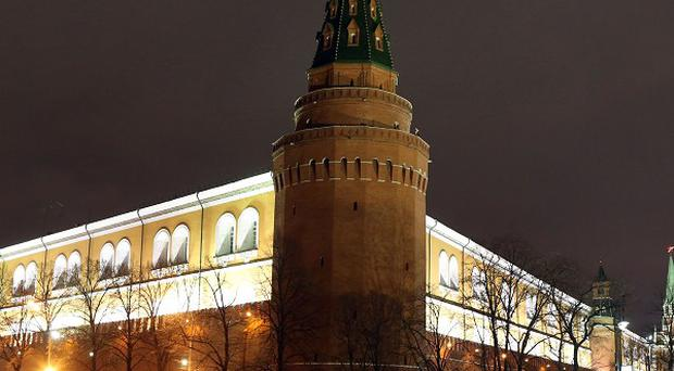 The Kremlin, heart of a country where just 110 people own more than a third of the wealth