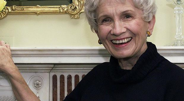 Canadian author Alice Munro has been awarded the Nobel Prize in Literature (AP)