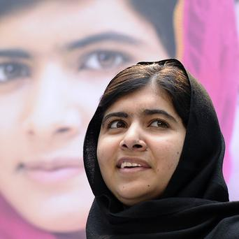 Malala Yousafzai was shot by the Taliban (AP)