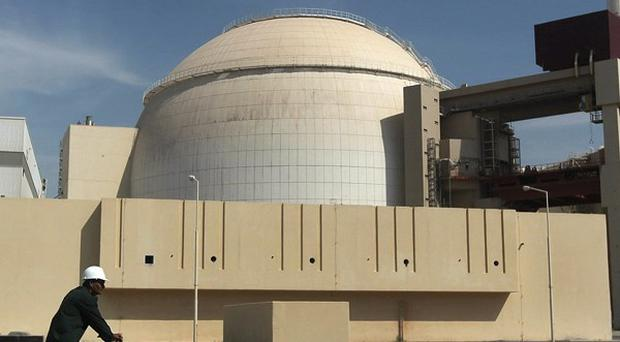 Iran's Bushehr nuclear power plant - the country has opened talks on its atomic programme (AP)