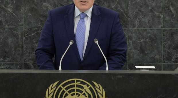 Dutch foreign minister Frans Timmermans has demanded assurances from Russia after an attack on one of his diplomats (AP)