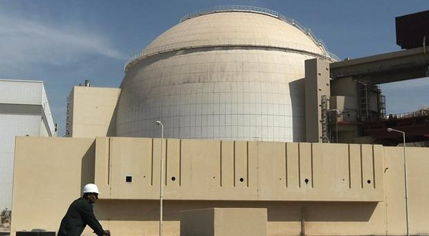 Iran's Bushehr atomic plant - talks on the future of the country's nuclear programme have ended on a positive note (AP)