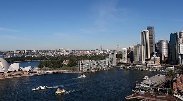 Smoke from wildfires has cast a haze over Sydney.