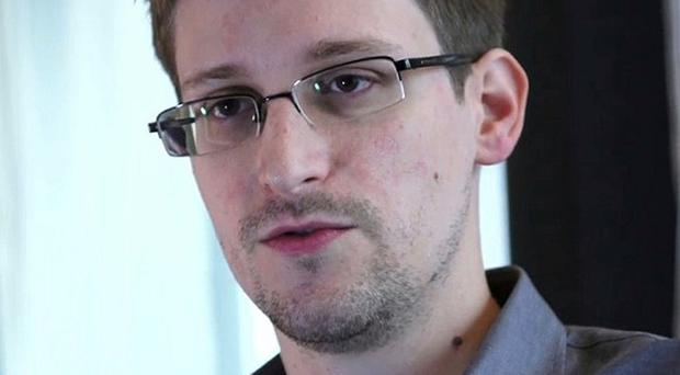 File photo of Edward Snowden, the former US National Security Agency analyst, who has said that he did not take any secret NSA documents to Russia. (AP Photo/The Guardian)