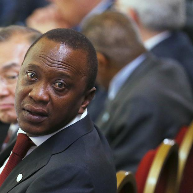 Kenya's President Uhuru Kenyatta is due to face trial at The Hague