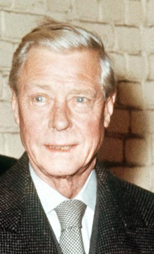 Duke of Windsor was forced to abdicate in 1936