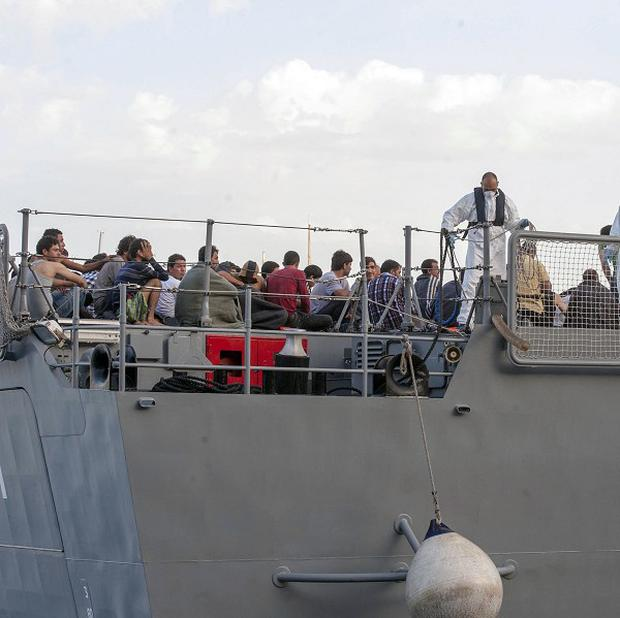 More than 700 migrants have been rescued from waters near Sicily in less than 24 hours