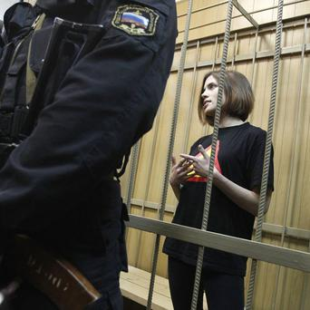 Nadezhda Tolokonnikova, a member of the female punk rocker band Pussy Riot, is being sent to a new penal colony (AP)