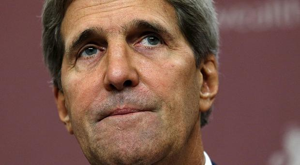 US Secretary of State John Kerry is in Cairo pressing for reforms