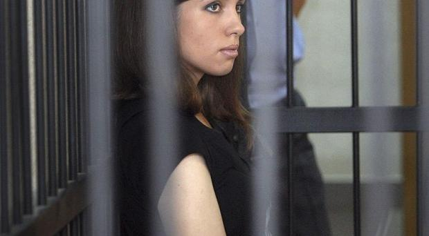 Nadezhda Tolokonnikova is being transferred between prisons (AP)