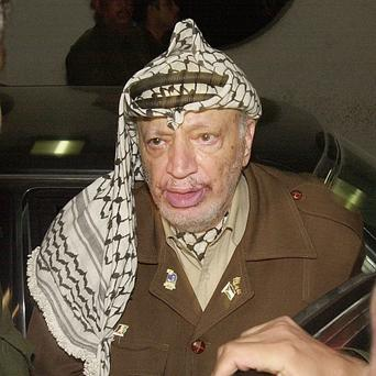A scientist's report claims Yasser Arafat died from polonium poisoning (AP)