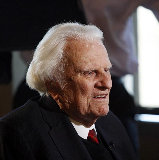 A big party has been held to celebrate the 95th birthday of evangelist Billy Graham.